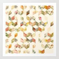 Keziah - Flowers Art Print