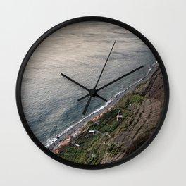 Fajã dos Padres, Madeira Wall Clock
