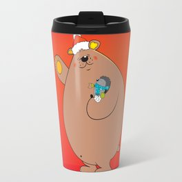 We wish you a Merry Christmas II Travel Mug