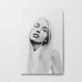 Meg Metal Print