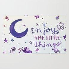 Enjoy the Little Things Rug