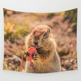 Have a smile for breakfast Wall Tapestry