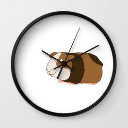 Everything is Guinea Be Okay, Guinea Mom, Guinea Pig Gift, Animal Pun, Motivational Wall Clock