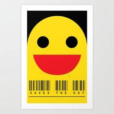 smiling Art Print