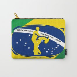 lets dance brazilian zouk flag design Carry-All Pouch