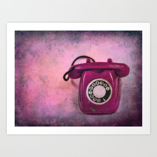 CALLING FOR YOU Art Print