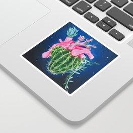 Succulent Heart Sticker