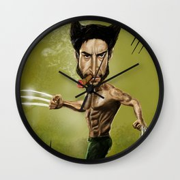 WOLV CARICATURE Wall Clock