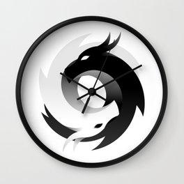 Game Of Dragons TM Symbol Wall Clock