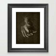 Grunge Bang Bang Nails Sofia Framed Art Print
