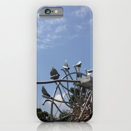 In The Park by Rrrah iPhone Case