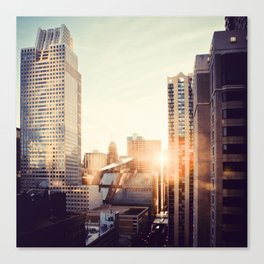 Chicago Life Canvas Print