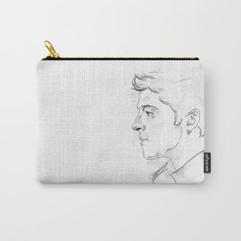 Castiel | Seraph | White Carry-All Pouch
