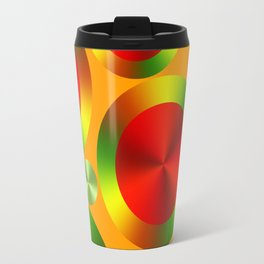 Abstract 3 Travel Mug