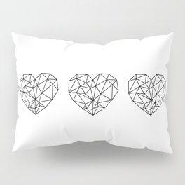Black like my heart Pillow Sham