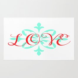 Beautiful Love Rug