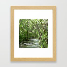 Peaceful moments.... Framed Art Print