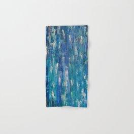 Abstract blue Hand & Bath Towel
