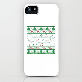 Guitar Christmas iPhone Case