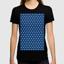 Polka Dots Blue #retro #vintage #60s #50s #minimal #art #design #kirovair #buyart #decor #home T-shirt