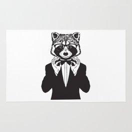 Fancy Raccoon Rug