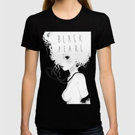 Black pearls T-shirt