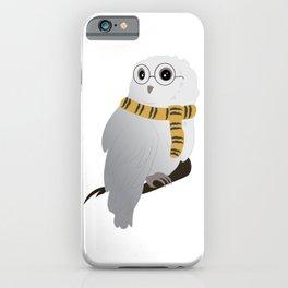 Hufflepuff Hedwig iPhone Case