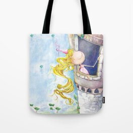 Princess Rapunzel Tote Bag