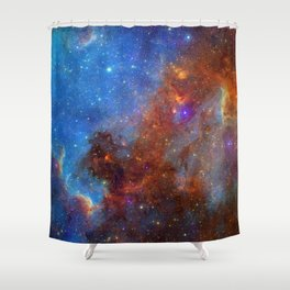 North America Nebula 2 Shower Curtain