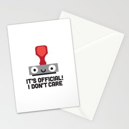 Nopetarized Stationery Cards