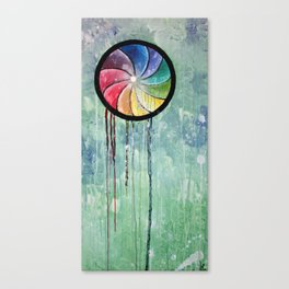 the waiting jellyfish [revamp] Canvas Print