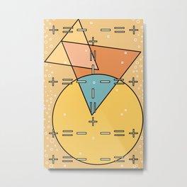 Bauhaus Less is More Metal Print