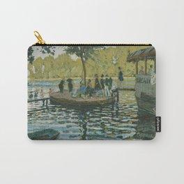 Claude Monet - La Grenouillère (1869) Carry-All Pouch