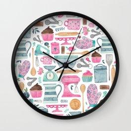 Baking Cakes Wall Clock
