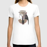 anaconda T-shirts featuring EGYPTIAN GODDESS by Bianca Green