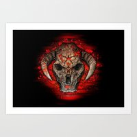 diablo Art Prints featuring Diablo by Digital Dreams