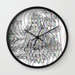 Kali Ma Wall Clock