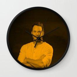 Chris Pratt Wall Clock
