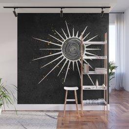 Sunrays and Swirls Inktober :: I Feel An Urgency Wall Mural