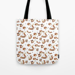 Little Foxes Tote Bag