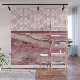 Mystic Stone Blush Harlequin Mix Wall Mural