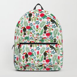Floral Toucan Backpack