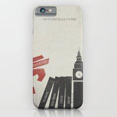 V Vendetta, Alternative Movie Poster, graphic novel by Alan Moore Slim Case iPhone 6s