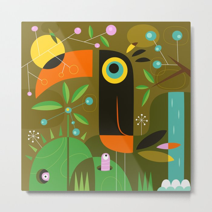 The toucan Metal Print