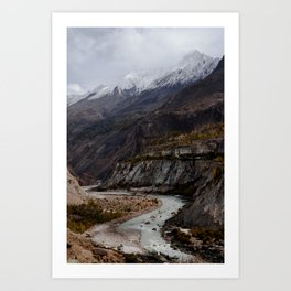 Valley Views Art Print