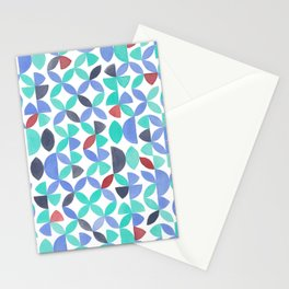 LITE GARDEN SALAD, hand-painted pattern by Frank-Joseph Stationery Cards