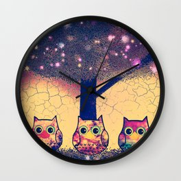 owl-38 Wall Clock