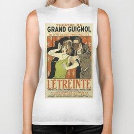 Le Étreinte, Theatre du Grand Guignol, vintage poster Biker Tank