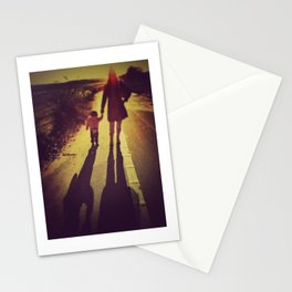 Me and My Shadow Stationery Cards