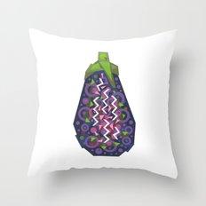 Eggplant (Aubergine) Throw Pillow